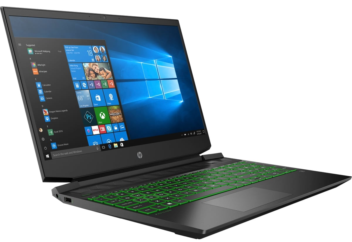 "HP Gaming 15-ec0004nf, PC portable 15"" Turing rapide (649€)"