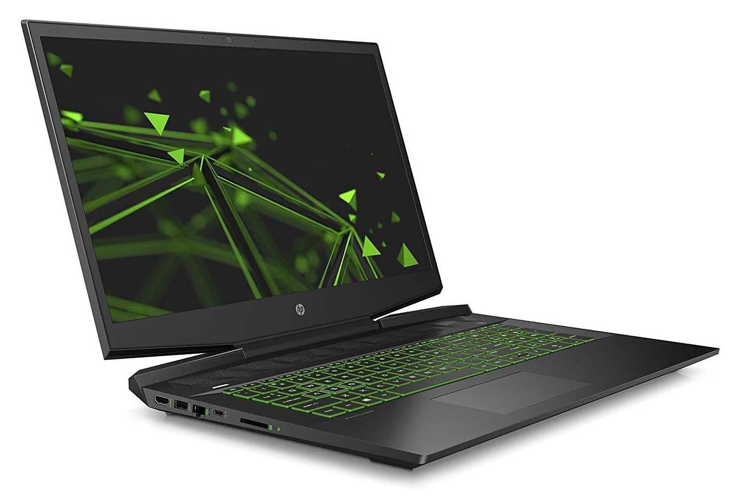 HP Gaming 17-cd0008nf, PC 17 pouces polyvalent vert (601€)