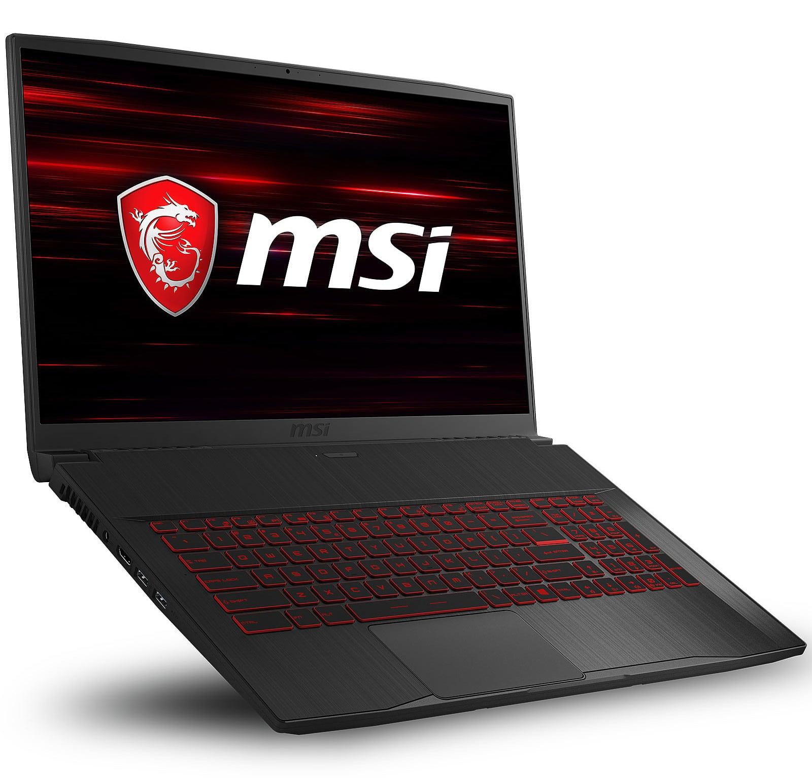 MSI GF75 9RCX-262FR, 17 pouces puissant 32 Go RAM (1499€)