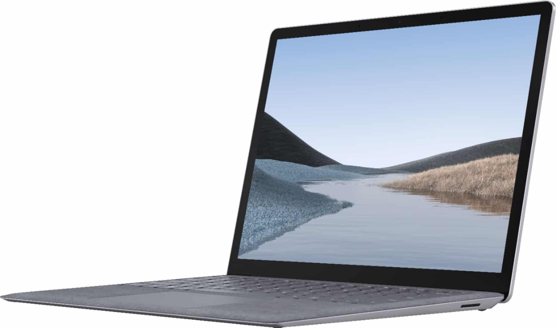 """<span class=""""tagtitre"""">Microsoft - </span>Ultrabook Surface Laptop 3 réparable, 15"""" aussi avec Intel"""