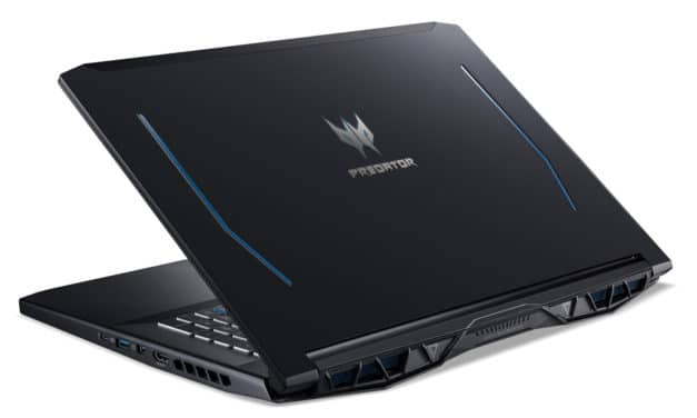 "Acer Predator PH317-53-51BW, PC 17"" gamer performant RTX 2060 sans Windows (1399€)"