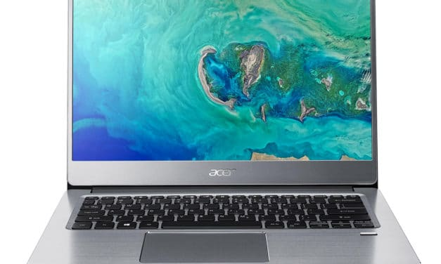 Acer Swift 3 SF314-41-R5ER, ultrabook 14 pouces multimédia Ryzen 5 (599€)