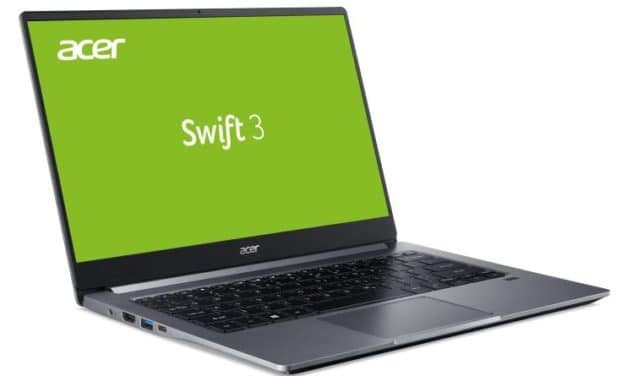"Acer Swift 3 SF314-57-592D, Ultrabook 14"" rapide léger SSD 512 Go (799€)"