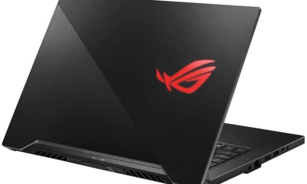"Asus ROG Zephyrus GU502GU-ES003R, PC gamer fin et léger 15"" avec GTX 1660 Ti (1259€)"