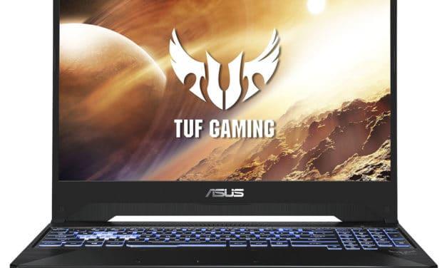 Asus TUF 505DD-AL062T, 15 pouces gamer polyvalent 120Hz (695€)
