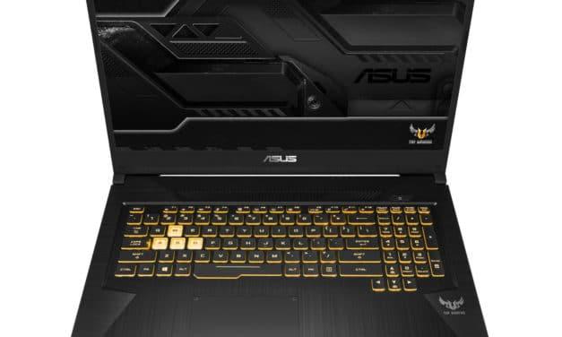 "<span class=""promo"">Promo 1275€</span> Asus Gaming TUF 765DU-H7088T, PC portable 17"" 120Hz joueurs GTX 1660 Ti gros stockage"