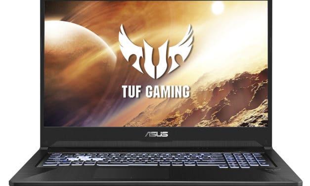Asus TUF705DT-H7153T, PC 17 pouces gamer sous Ryzen 7 (944€)