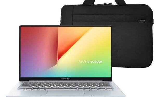 """<span class=""""nouveau"""">Nouveau 749€</span> Asus VivoBook S330FA-EY041T, Ultrabook 13"""" rapide+sacoche"""