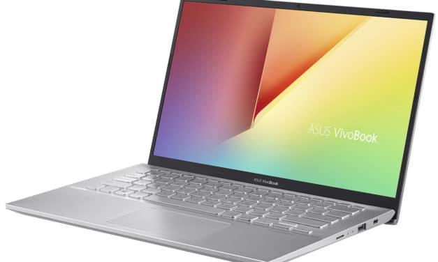 Asus VivoBook S412DA-EK321T, ultrabook 14 pouces Ryzen 7 (637€)