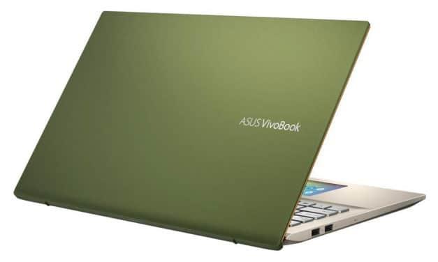 Asus VivoBook S432FA-EB048T, ultrabook vert 14 pouces avec 2 écrans (769€)