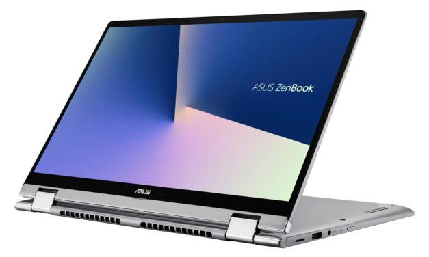Asus Zenbook Flip UM462DA-AI036T, ultrabook Tablette 14 pouces avec pavé numérique (836€)