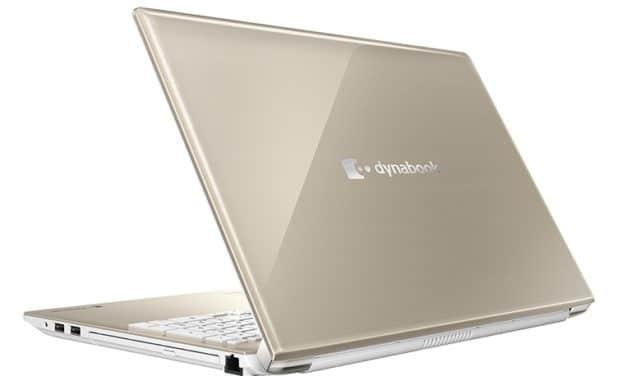"""Dynabook T8 et T9, PC portable 16"""" multimédia bleu/sable avec graveur Blu-Ray, 9h"""