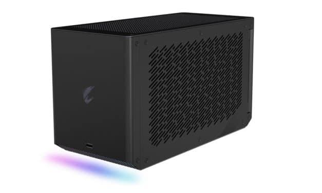 Gigabyte Aorus RTX 2080 Ti Gaming Box, boîtier GPU externe pour PC portables