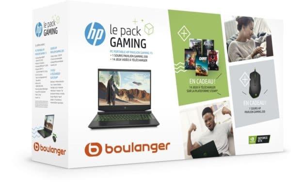 """HP Pavilion Gaming 15-ec0002nf, PC portable vert 15"""" polyvalent et jeu + pack (699€)"""