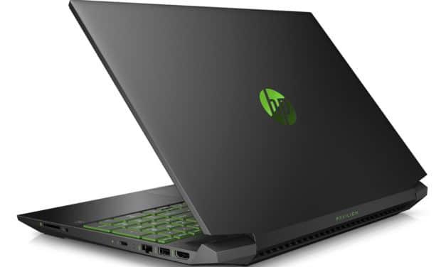 """<span class=""""promo"""">Promo 749€</span> HP Pavilion Gaming 15-ec0002nf, PC portable vert 15 pouces polyvalent et jeu"""