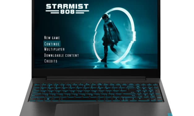 "<span class=""nouveau"">Nouveau 599€</span> Lenovo IdeaPad L340-15IRH, PC portable gamer GTX SSD 512 Go"