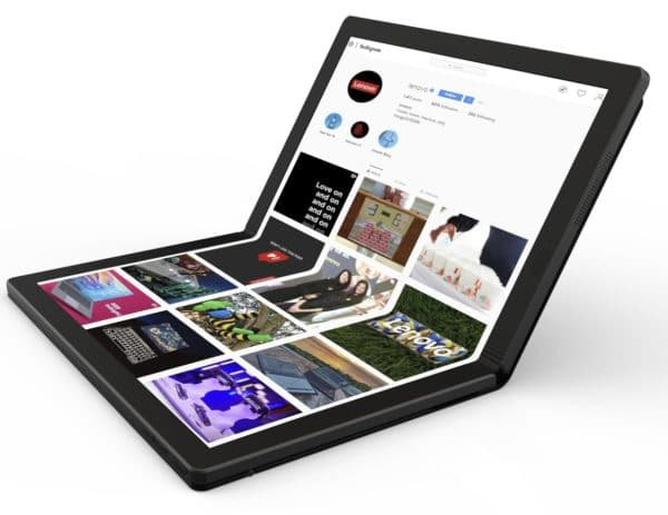 ovo Thinkpad X1 foldable