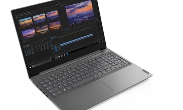"Lenovo V15-IWL, nouvel Ultrabook 15"" Quad Core fin d'entrée de gamme"
