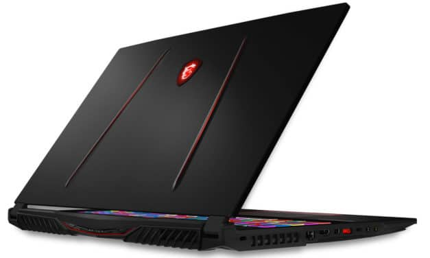 "MSI GE75 9SF-1068 Raider, PC portable 17"" 240Hz gamer RTX 2070 (1959€)"
