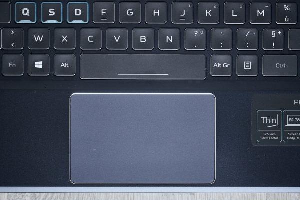 Test Acer Predator Triton 500 PT515-51 Touchpad