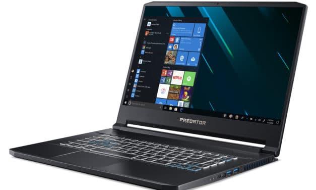 "<span class=""promo"">Promo 2499€</span> Acer Predator Triton PT515-51-70FB, PC gamer fin et léger 15 pouces RTX 2080"