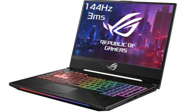 Asus ROG G515GW-ES023T, PC gamer 15 pouces jeu intensif RTX 2070 (1639€)