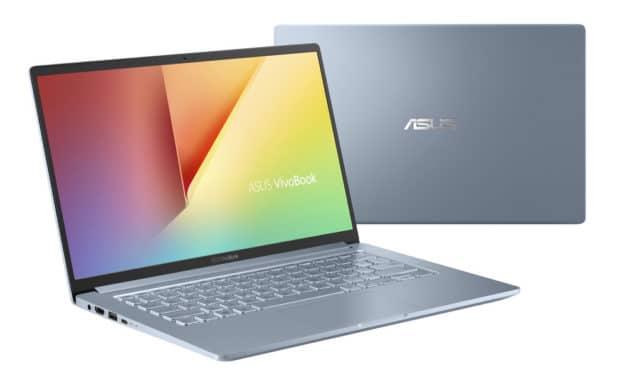 "Asus VivoBook S403FA-EB294T, ultrabook 14"" bleu grosse autonomie (734€)"