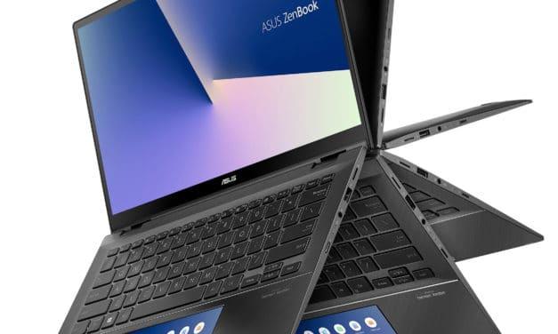 """Asus Zenbook Flip UX463FL-AI014R, ultrabook tablette 14"""" multimédia (1469€)"""
