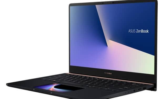 """<span class=""""promo-best"""">Promo 899€</span> Asus ZenBook UX480FD-BE066T, ultrabook 14 pouces léger et polyvalent avec 2 écrans"""