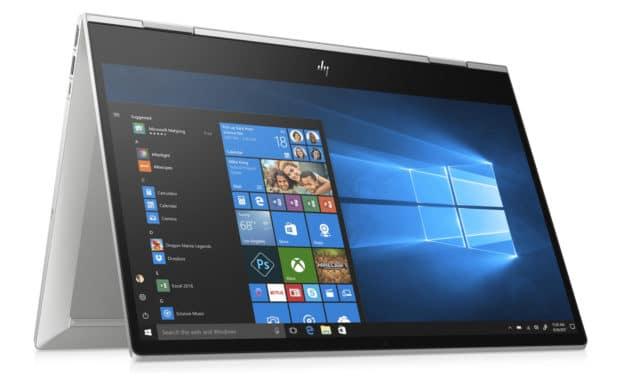 HP Envy x360 15-dr0021nf, 15 pouces convertible en Tablette bureautique (799€)