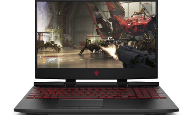 HP Omen 15-dc1014nf, PC gamer 15 pouces avec GTX 1650 et TB3 (839€)