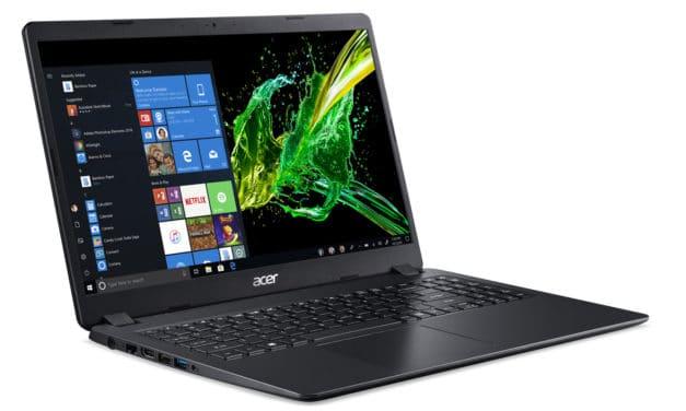 """Acer Aspire 3 A315-42-R5QM, PC portable 15"""" polyvalent pas cher léger rapide gros stockage (549€)"""
