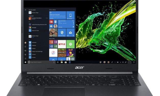 Acer Aspire A515-54G-79RT, PC portable multimédia 15 pouces (787€)