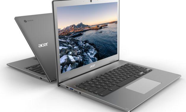 Acer lance 4 nouveaux ordinateurs portables (2-en-1) Chromebook Entreprise