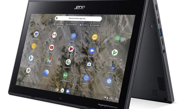 "Acer Chromebook Spin 311 (R721T), ultraportable 11"" 2-en-1 Tablette Google Chrome robuste 10h"