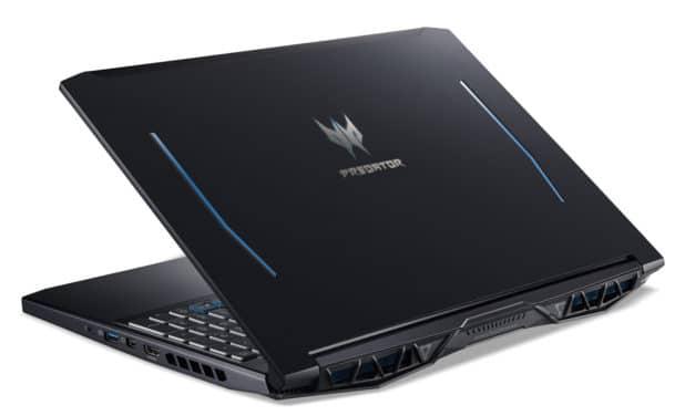 Acer Predator Helios PH315-52-77D4, 15 pouces jeu SSD 1 To et RTX 2060 (1599€)