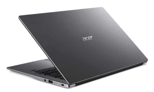 """Acer Swift 3 SF314-57-76KV, Ultrabook 14"""" polyvalent fin et rapide 8h 1.2 Kg (799€)"""