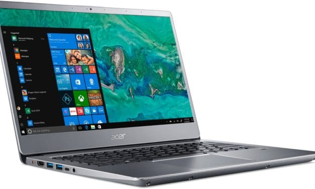 "<span class=""promo"">Promo 799€</span> Acer Swift SF314-58-75U7, Ultrabook 14"" argent léger rapide SSD 512 Go"