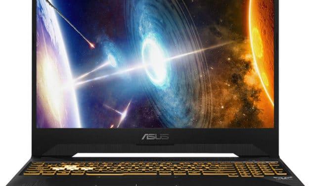 "<span class=""promo"">Promo 999€</span> Asus TUF 565DV-AL037T, 15"" gamer borderless 120Hz et RTX 2060"