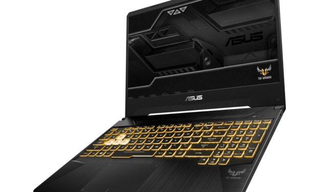 Asus TUF 565GE-AL352, 15 pouces joueur puissant (719€)