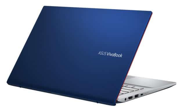 """Asus VivoBook S431FA-EB030T, Ultrabook 14"""" argent bleu rapide et léger (759€)"""