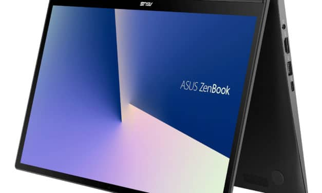 "Asus Zenbook Flip UX463FL-AI044T, Ultrabook 14"" tablette avec MX250 et second écran ScreenPad (1274€)"
