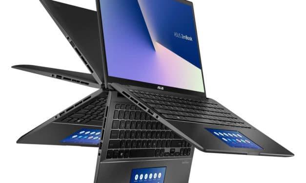 """Asus Zenbook Flip UX563FD-A1015R, tablette tactile 4K 15"""" polyvalent (1799€)"""