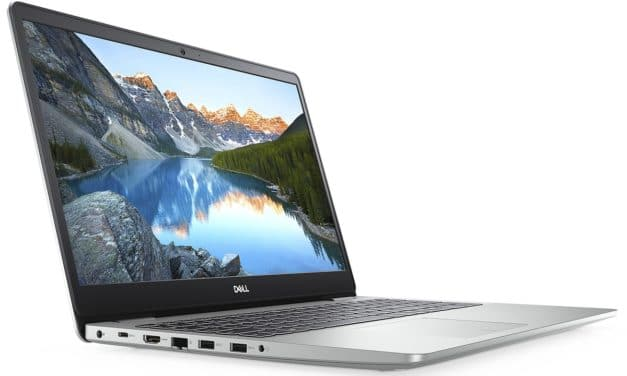 "Dell Inspiron 15 5593, Ultrabook 15"" argent fin rapide SSD (499€)"