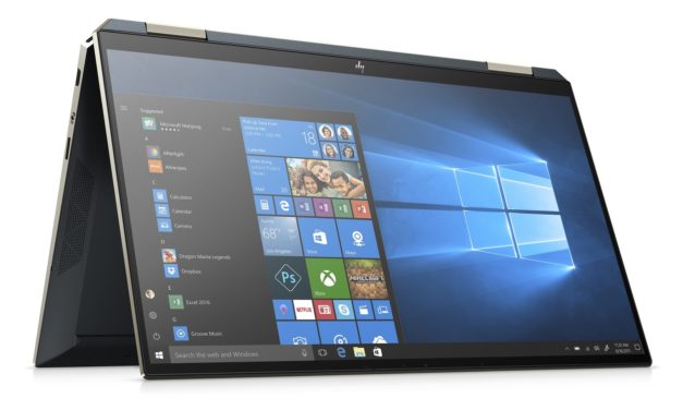 "HP Spectre x360 13-aw0004nf, ultrabook tablette 13"" multimédia et endurant (1049€)"