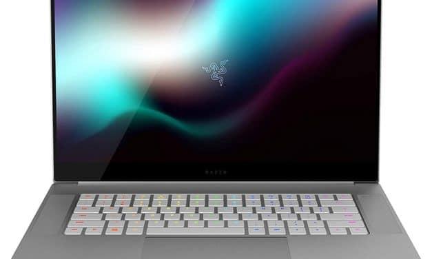 """Razer Blade 15 Studio Edition, Ultrabook 15"""" 4K OLED argent Quadro RTX pour créatifs et Pro"""