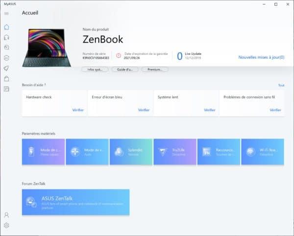 Test Asus ZenBook Pro Duo UX581