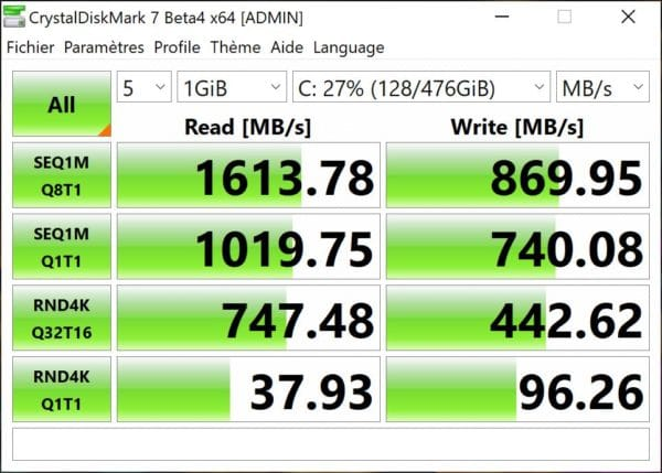 Test Asus ZenBook Pro Duo UX581 SSD