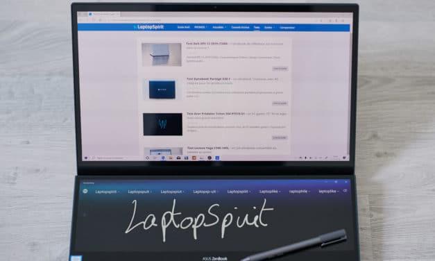 """<span class=""""tagtitre"""">Test Asus ZenBook Pro Duo UX581 - </span>Deux écrans valent mieux qu'un ?"""