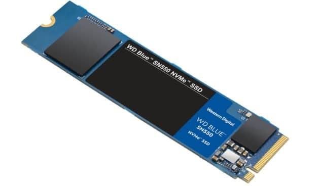 Western Digital Blue SN550, nouveau SSD M.2 NVMe pour créatifs et utilisateurs exigeants